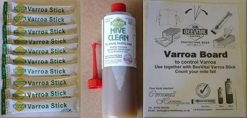 Beevital hive clean